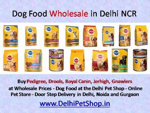 Buy Pedigree, Drools, Royal Canin, Jerhigh, Gnawlers  at Wholesale Prices - Dog Food at the Delhi Pet Shop - Online Pet Store - Door Step Delivery in Delhi, Noida and Gurgaon https://youtu.be/HFZwLWaOOBU