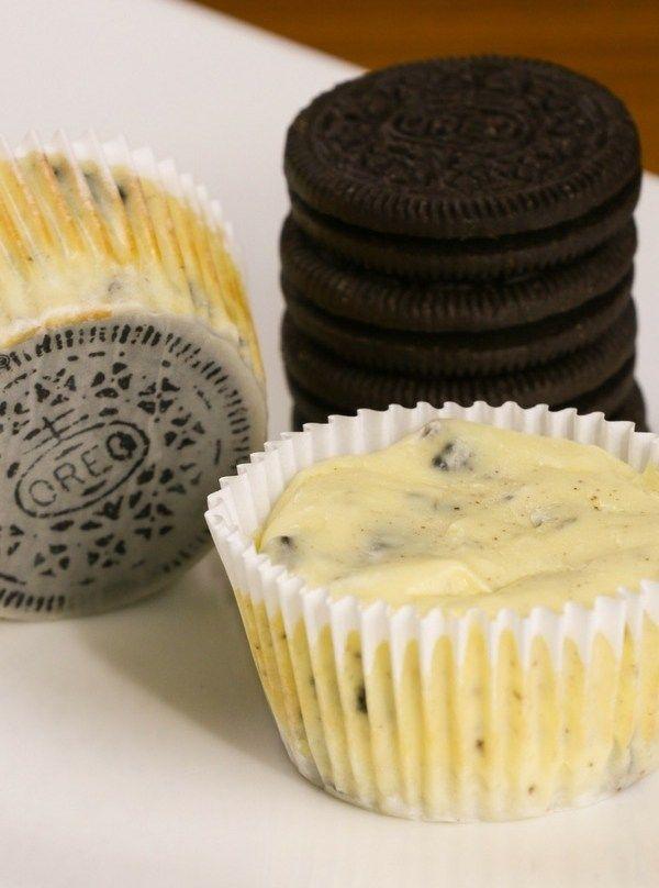 Mini Oreo Cheesecake Cupcakes Recipesfeedfood Com Recipes