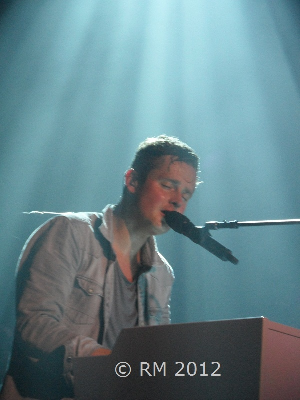 Tom Chaplin (Keane), Hamburg, 10-11-2012