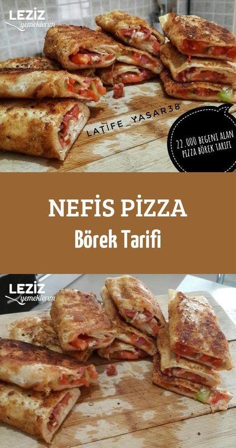 Nefis Pizza Börek Tarifi