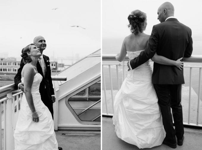 Wedding, Texel, Ferry, veerboot