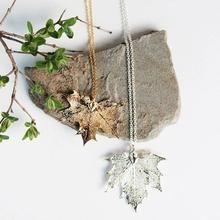 Birch Jewellery - Maple Leaf Necklace
