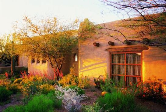Not exactly innovation as adobe houses have been around for thousands of years, but it just goes to show you sustainability in architecture is nothing new
