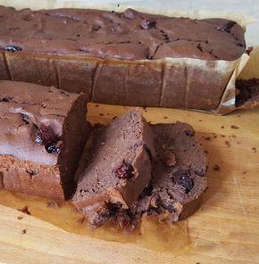 dieta Warzywno Owocowa: Czekoladowe ciasto z fasoli [bezglutenowe]