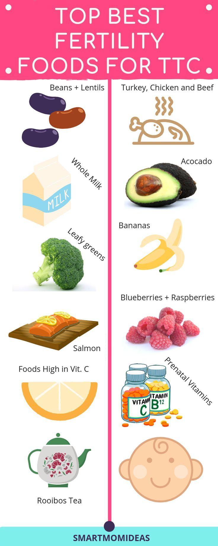 13 Best Foods That Increase Fertility Smart Mom Ideas Fertility Foods Fertility Diet Fertility Boost