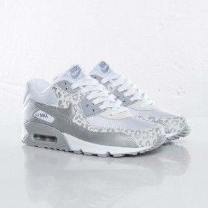 Nike Air Max Damen Weiß Silber