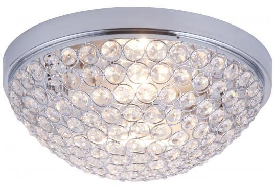 Nala krystall plafond IP21 Nova Life Krom 32cm | Lampehuset