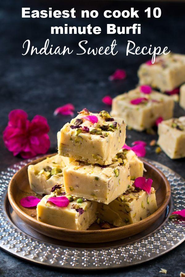 Condensed Milk Fudge Easy 3 Ingredient Fudge Recipe Variations In 2020 Fudge Recipes Indian Dessert Recipes Burfi Recipe
