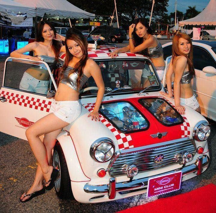 Image result for classic mini 7 grid girls