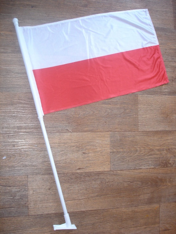 custom made poland flag by customflag on Etsy, $55.00