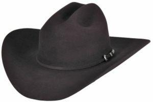 Rodeo King® 7X Low Rider Black Felt Cowboy Hat | Cavender's