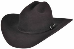 Rodeo King® 7X Low Rider Black Felt Cowboy Hat | Cavender's
