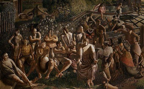 Christ in Cookham, Sir Stanley Spencer, 1951-52