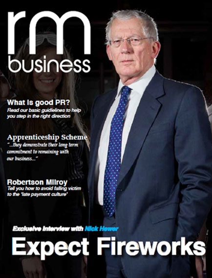 With The Apprentice in its ninth series in the UK, Andy Greeves caught up with Lord Sugar's trusted aide - and Countdown presenter - Nick Hewer.    http://www.rmbusiness.co.uk/nick-hewer-interview/