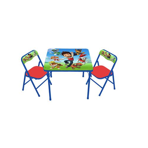 Kids Only Paw Patrol Activity Table and 2 Chairs Set