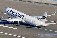Finnair Airbus A321-231(WL) OH-LZL aircraft, landing at Portugal Madeira Funchal International Airport. 12/12/2016.