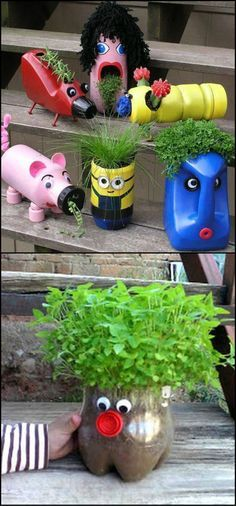 There are heaps of great ways to recycle plastic bottles. Here are just a couple to get the creative juices flowing. You'll never look at plastic bottles the same way again after viewing the full gallery on our site at http://theownerbuildernetwork.co/8znx As with most things in life, all it takes is a little imagination and time. We've seen PET bottles re-purposed into everything from greenhouses to homes.