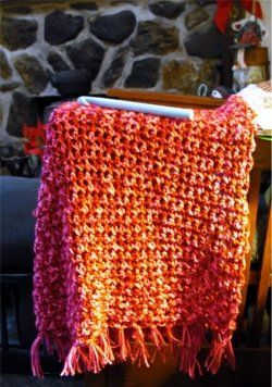 Quick & Easy Prayer Shawl - Easy Prayer Shawl Crochet Patterns. For you to look at. I think there is two patterns and two different shawls here.
