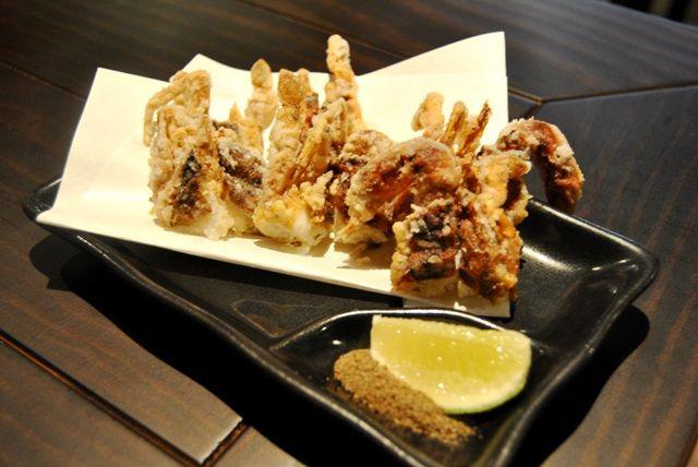 Cangrejo de concha blanda, en Shikku Aravaca