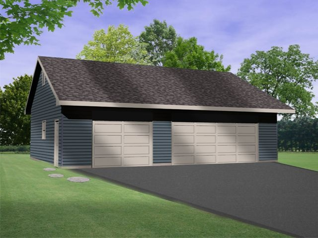 17 best images about car lift or auto lift garage plans on for 3 bay garage plans