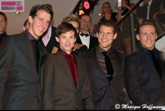 My Boys! ♡ Jersey Boys: Dieter,  Tim, René and Robbert