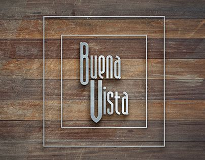 "Check out new work on my @Behance portfolio: ""Buena Vista restaurant - logo & branding"" http://on.be.net/1ExNeec"