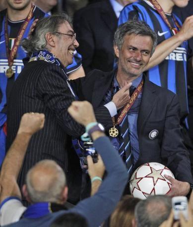 Josè #Mourinho and Massimo #Moratti