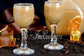 Карамельно-кофейный ликер