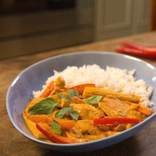 Thai-Curry mit Hähnchen