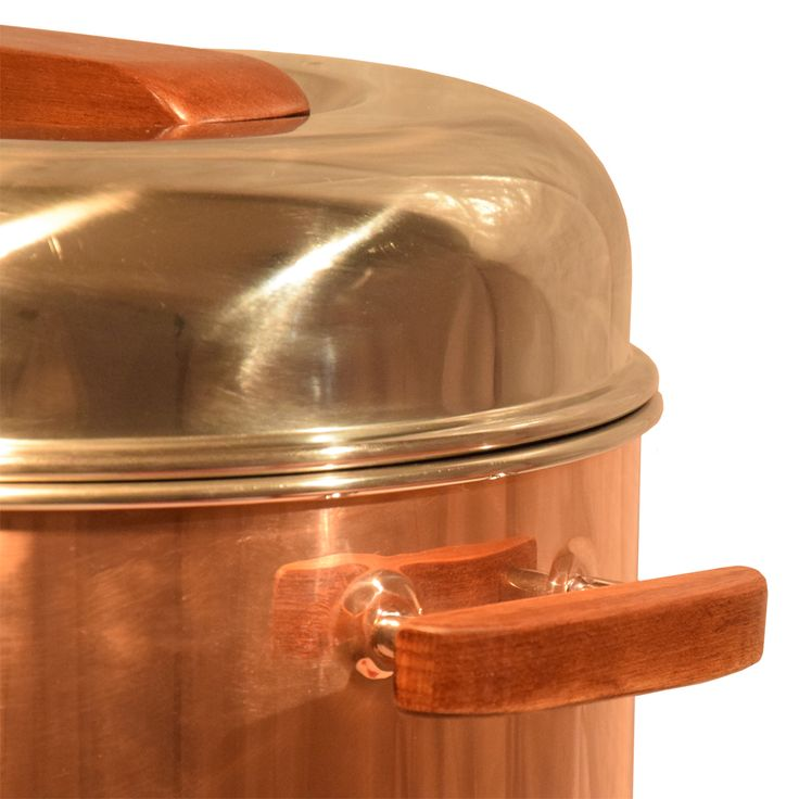 Glühweintopf Kupfer - stilvoller Glühweingenuß