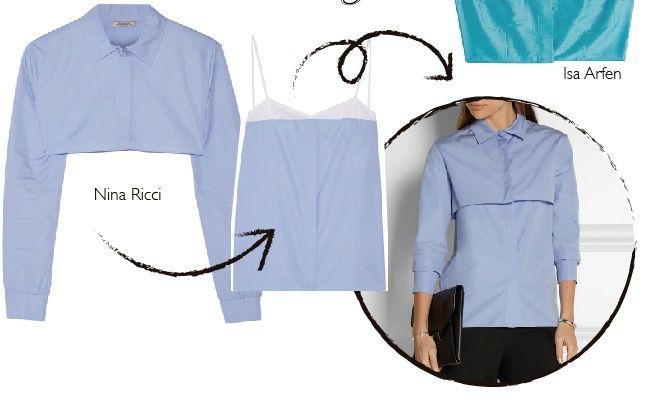 """""""Переделка блузки"""" от Nina Richi"""
