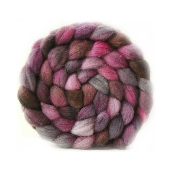 merino cashmere nylon top SABOTAGE mcn roving by lanitiumexmachina