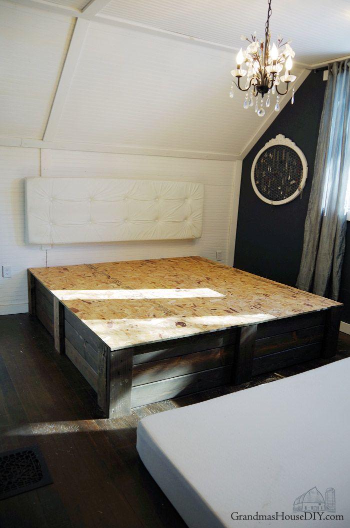 Mejores 2053 imágenes de DIY beds en Pinterest   DIY, Guardería y ...