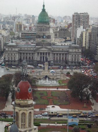 Palacio Barolo (Palazzo Barolo): View of Buenos Aires from the top of Palacio Barolo