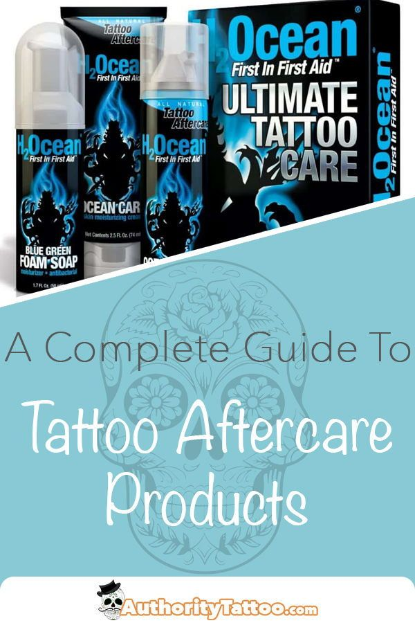 Best Tattoo Aftercare Products For Faster Healing Tattoo