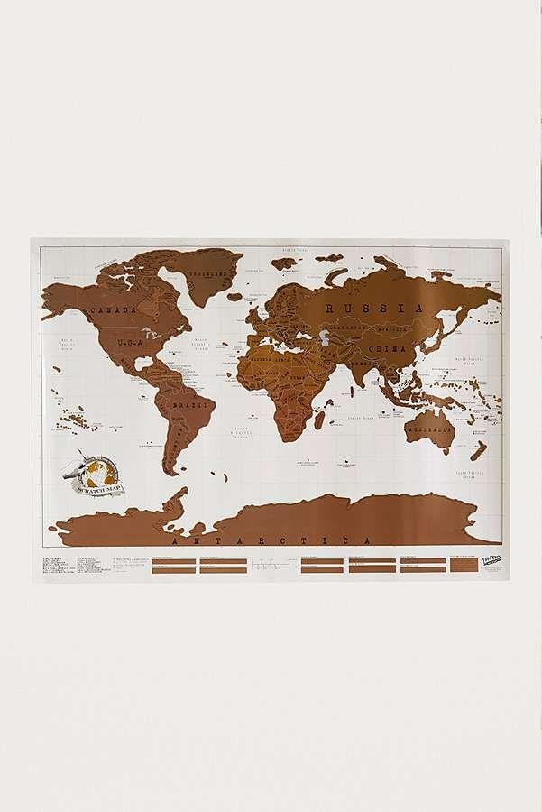 Slide View: 1: Weltkarte zum Freirubbeln