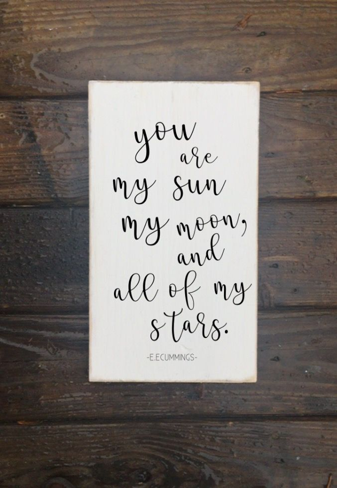 My sun and moon #nursery #lovequotes #farmhouse