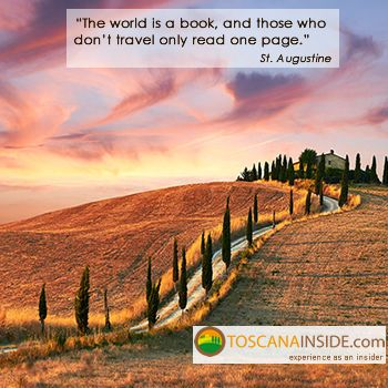 #Travelling in the opinion of St. #Augustine #quoteoftheday