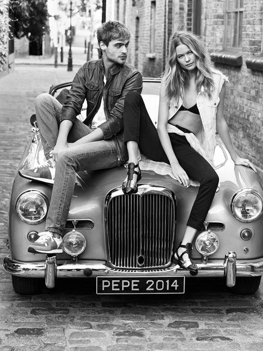 #fashion #couple #car #vintage #blackandwhite #monochrome