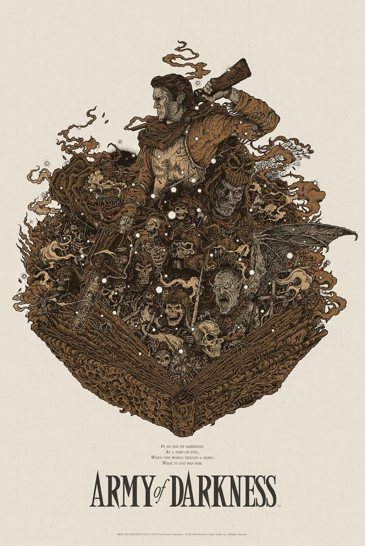 Army of Darkness by Richey Beckett