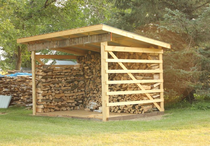 12 best firewood storage ideas images on pinterest for Wood storage building plans