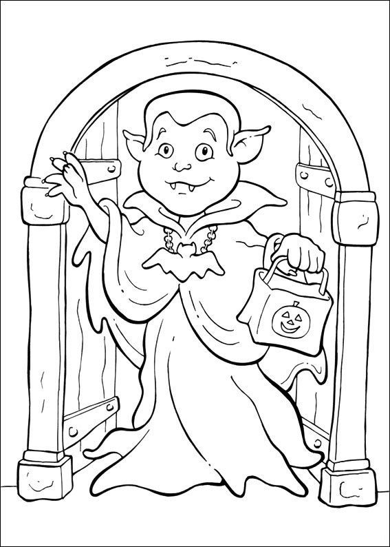 82 besten Coloring Pages Bilder auf Pinterest | Halloween ...