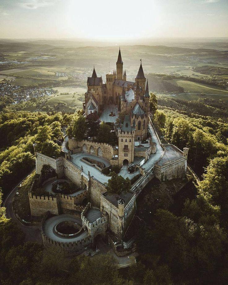 Hohenzollern Castle Germany Germany Castles Hohenzollern Castle Fantasy Castle
