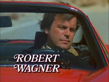 Robert Wagner(as Jonathan Hart). Charm, resources, all-around smooth character.