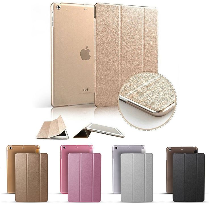 Slim Smart Wake Leather Case Cover for Apple iPad2 3 4 5 mini 1 2 Air 2 Pro 9.7