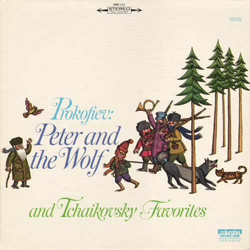 Peter and the Wolf: Richard Attenborough (CRC, 1966)