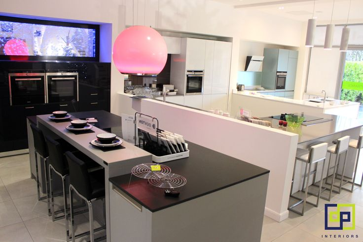 Superieur Schuller German Kitchen With Dekton And Silestone Worksurfaces And Faber