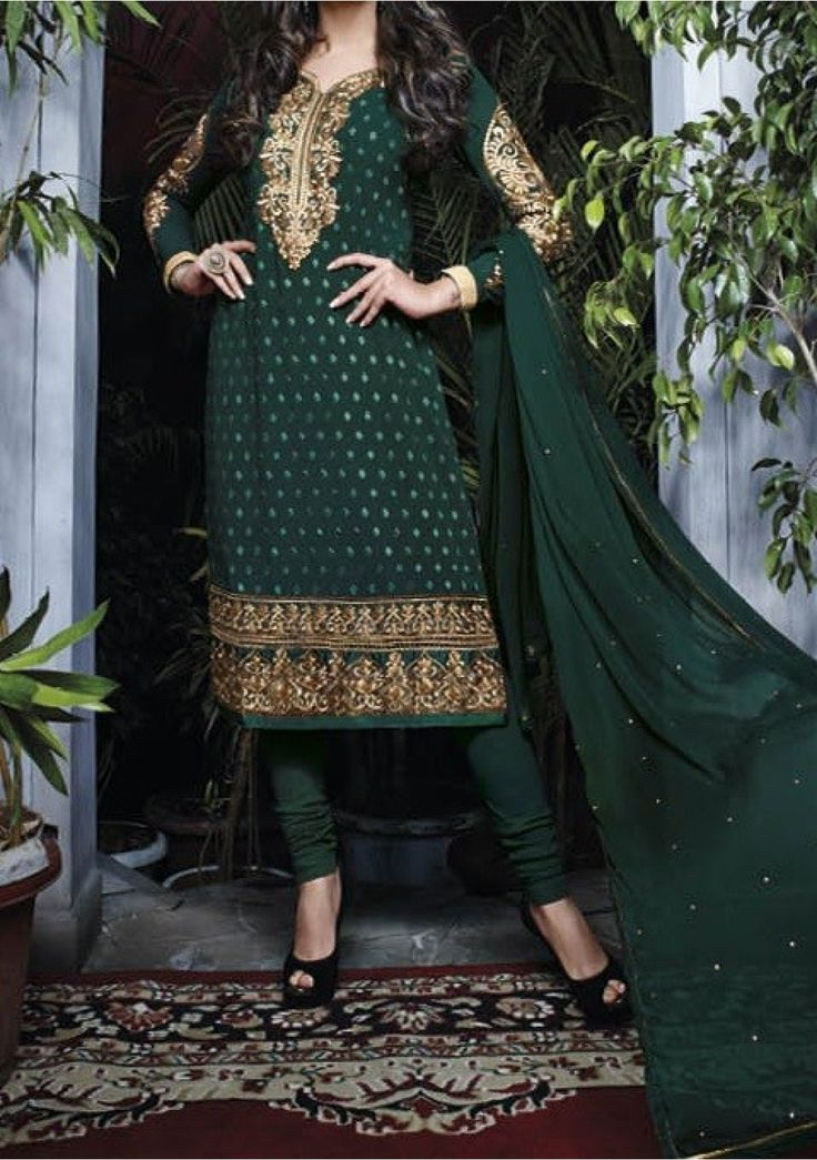 Sushmita Sen Designer Georgette Salwar Kameez Suit