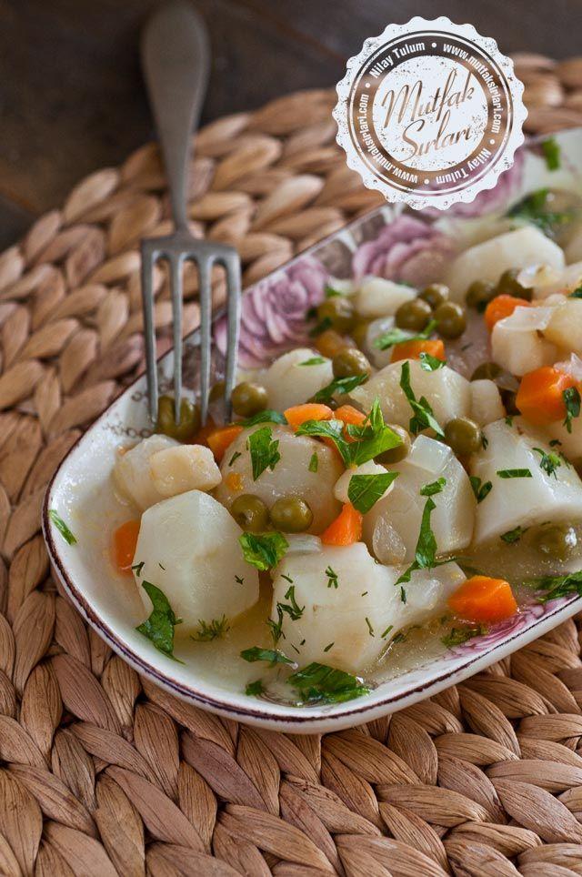 Zeytinyağlı Yer Elması - Tarifin püf noktaları, binlerce yemek tarifi ve daha fazlası...