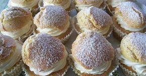 Képviselő muffin - Hozzávalók: 200g liszt, 70g búzadara, 90g cukor, 2 csapott tk sütőpor, 2 cs. vaníliáscukor, 3 tojás, 125g olvasztott lehűtött vaj/margarin, 4 ek tej